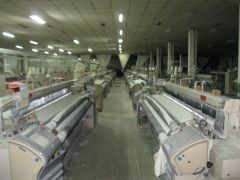 A-1249 TSUDAKOMA'S AIR JET LOOM, TYPE ZAX9100, YEAR 2007, 3400MM, STAUBLI DOBBY