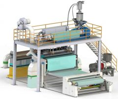 A-2524 MELTBLOWN FABRIC PRODUCTION MACHINE 1600 mm