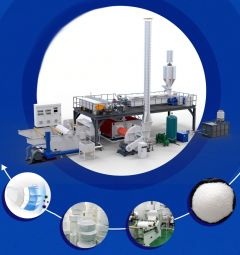 AA-1182  MELTBLOWN NONWOVEN PRODUCTION LINE, 600mm (WORKING WIDTH)