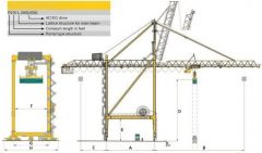 AA-1189  CONTAINER LOADING CRANE