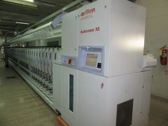 C-2433 OERLIKON SAURER SCHLAFHORST AUTOMATIC WINDER X5 AUTOCONER WITH 60 SPINDLES, YEAR 2011