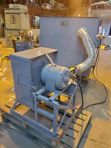 J-2643 ORMONT PILLOW BLOWER, MODEL TF-05, WITH BLOWER, FEEDER AND PICKER