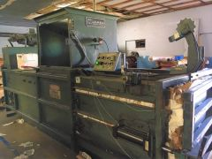 "J-3080 MAREN HORIZONTAL BALER, 60"",  AUTOMATIC CYCLE"
