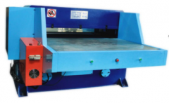 J-3161 AUTOMATIC DIE CUTTER WITH DOUBLE SHUTTLING TABLE, CUTTING CAPACITY 80 TONS -Video available