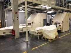 J-3548 TRUTZSCHLER BALE OPENERS, WORKING WIDTH 1000mm, REFURBISHED IN 2017
