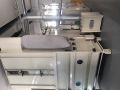 J-3571 TECNOTEX DOUBLE DOFFER CARD, WORKING WIDTH 2500mm, UP TO 400 KG PER HOUR