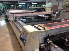 M-0429 REGGIANI FLAT BED PRINTING MACHINE YEAR 1990 WIDTH 1800mm - 12 COLORS (11 INSTALLED)