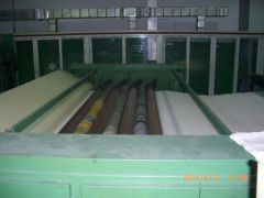 M-1027 NEEDLE PUNCHING PLANT COMPLETE WITH 6 FEHRER NEEDLE LOOMS YEAR 1993