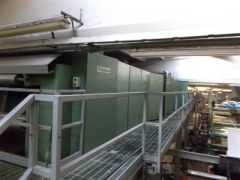M-1487 CONTINUOUS WASHING LINE IN OPEN WIDTH FOR WOVEN FABRIC YEAR 2000 WIDTH 3600mm