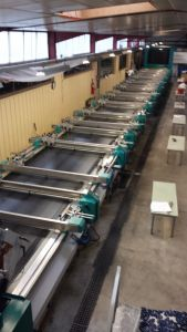 M-2011 BUSER FLAT SCREEN PRINTING MACHINE YEAR 2003