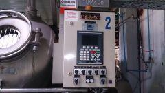 M-5049 RAMISCH-KLEINEWEFERS RKK-230 2-ROLLS THERMOBONDING CALENDER YEAR 1998 WIDTH 2200mm