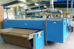 M-5119 LAMINATION SYSTEM AND STORK DRYER YEAR 2012 WIDTH 1200-1900mm