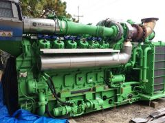 JENBACHER JMS 612 INDUSTRIAL NATURAL GAS GENERATOR SETS YEAR 2006