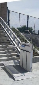 P-8875 INCLINED WHEELCHAIR LIFTS