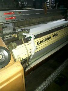 SAURER S400 TEXTILE WEAVING MACHINE, WIDTH 2050mm, DOBBY