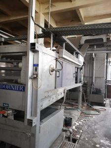 DORNIER TUBULAR MERCERIZING MACHINE, WORKING WIDTH 1700mm, YEAR 2008
