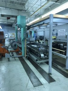 STAUBLI DELTA DRAWING-IN MACHINE, WORKING WIDTH 2200mm, YEAR 2000