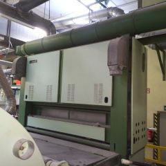 SPINNBAU DOUBLE DOFFER CARDING MACHINE, WORKING WIDTH 2500mm, YEAR 1983