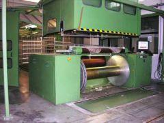 KARL MAYER FRACTIONAL WARPER AND KARL MAYER ROTAL SIZING MACHINE, YEAR 2002