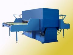 T-7665 STAR-60 DIE CUTTER WITH TWO-SIDED MOTORIZED FEED TABLE, CUTTING FORCE 60 TONS
