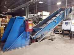 V-1862 VECOPLAN SHREDDER RG 52, 100 SYSTEM, YEAR 2004, WITH ECONOGRIND 100HP GRANULATOR -VIDEO AVAILABLE