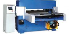 """HYDRAULIC CUTTING MACHINE WITH AUTO-FEEDING TABLE; 2000mm WIDTH x 1300mm DEPTH ( 78.7"""" X 51"""")"""