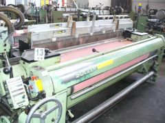 """18 SULZER RUTI PROJECTILE LOOMS-AVAILABLE 18 SULZER-85"""" PU"""