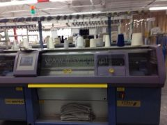 C-1726 STOLL CMS 320 TC FLAT KNITTING C, YEAR 2002