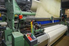 C-1813 DORNIER ATVF6 AIRJET LOOM FOR TERRY FABRICS CX 880, WIDTH 3200mm, YEAR 2002, STAUBLI JACQUARD, 6 COLORS