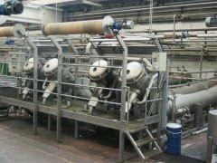 C-2171 BRAZZOLI HT ROPE DYEING MACHINE, CAPACITY 800 KGS, YEAR 2001