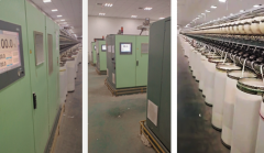 J-3210 RIETER R36 OPEN END SPINNING MACHINES, 500 ROTORS - Ø33mm, YEARS 2017-2018 - VIDEO AVAILABLE