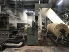 J-3427 KUSTERS CONTINUOUS BLEACHING LINE, WORKING WIDTH 3200mm – 120 METERS PER MINUTE