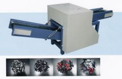 J-3528 FABRIC AND QUILTED FABRIC WASTE CUTTING MACHINE