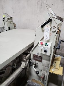 """J-3731 JAMES CASH TAPE EDGE, MODEL 100 SNMVHS, YEAR 2010, FULL SIZE, MAX HEIGHT 16"""""""