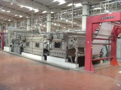 M-3380 KUSTERS CONTINUOUS WASHING MACHINE YEAR 2006 WIDTH 2400mm -5 BOXES
