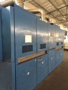 M-5345 SANTEX SANTASHRINK 2-CHAMBER SINGLE PASS RELAX DRYER YEAR 2005 WIDTH 2400mm