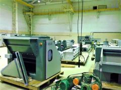 GRAUTE AND SCHOTT & MEISSNER AIRLAY PRODUCTION LINE – NEW, WORKING WIDTH 3200mm