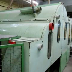 RAMISCH THERMOBONDING LINE, WORKING WIDTH 2500mm, YEAR 1983