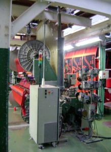 PICANOL AIR JET LOOMS FOR TERRY, WORKING WIDTH 2600mm, YEAR 2001, JACQUARD