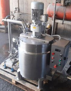 STAINLESS STEEL BALL MILL, CAPACITY 100 KGS