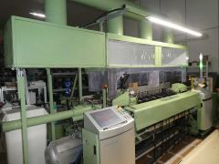 DORNIER PTS4/S RAPIER LOOM SETUP TO WEAVE, WIDTH 1900mm, YEAR 2016
