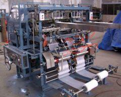 T-7927 GAUZE SWAB FOLDING MACHINE, 100 X 100mm, FOLDED EDGES