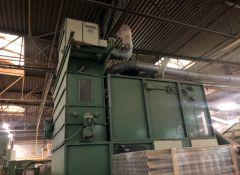 T-8051 LAROCHE AIR LAY NAPPING MACHINE, WIDTH 2400mm, YEAR 2000