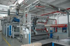 T-8306 TORNINOVA CAST LINE FOR AIR BUBBLE, WIDTH 2500mm, YEAR 2008