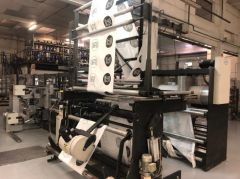 T-8362 LEMO SGS 850 BAG MAKING MACHINE, WELDING WIDTH 850mm