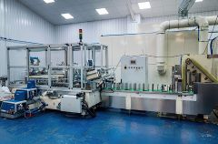 V-1937 ANDRITZ D-TECH FACE MASK PRODUCTION LINE, YEAR 2020, 600 MASKS PER MINUTE