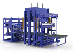 V-1947 BLOCK FOAM COMPRESSION ROLLING SYSTEM, 120 TON CAPACITY, OUTPUT DIAMETER 500 TO 800mm
